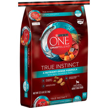 Load image into Gallery viewer, Purina ONE SmartBlend True Instinct Real Salmon & Tuna Adult Premium Dry Dog Food