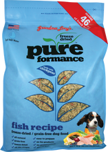 Load image into Gallery viewer, Grandma Lucy's Pureformance Fish Recipe Freeze Dried Grain Free Dog Food