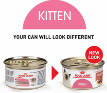 Load image into Gallery viewer, Royal Canin Feline Nutrition Kitten Instinctive Thin Slices in Gravy Canned Cat Food