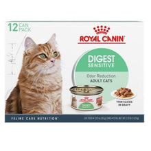 Load image into Gallery viewer, Royal Canin Feline Nutrition Digestive Sensitive Thin Slices in Gravy Canned Cat Food