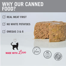 Load image into Gallery viewer, I and Love and You Grain Free Beef, Right Meow! Pate Canned Cat Food