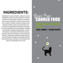 Load image into Gallery viewer, I and Love and You Grain Free Whascally Rabbit Recipe Canned Cat Food