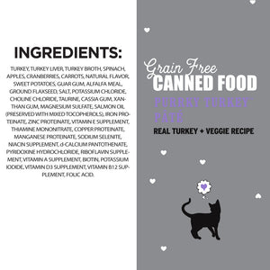I and Love and You Grain Free Purrky Turkey Recipe Canned Cat Food