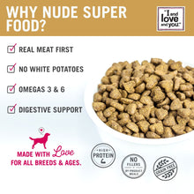 Load image into Gallery viewer, I and Love and You Grain Free Nude Super Food Red Meat Medley Dry Dog Food