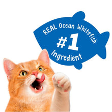 Load image into Gallery viewer, Friskies Party Mix Crunch Beachside Shrimp, Crab and Tuna Cat Treats