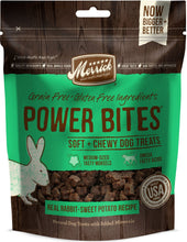 Load image into Gallery viewer, Merrick Power Bites Grain Free Rabbit Recipe Dog Treats
