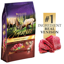 Load image into Gallery viewer, Zignature Limited Ingredient Diet Grain Free Venison Recipe Dry Dog Food