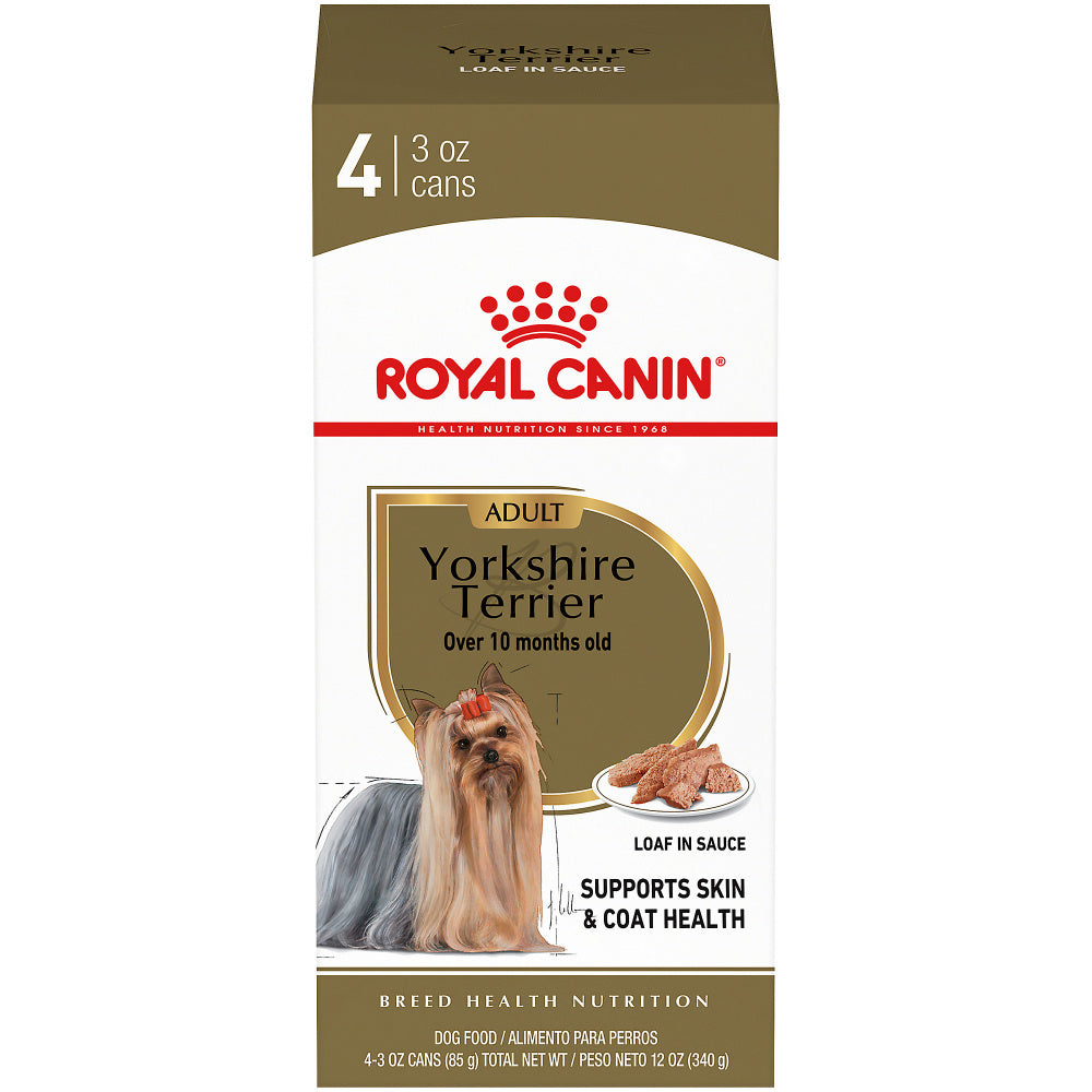 Royal Canin Breed Health Nutrition Yorkshire Terrier Adult Canned Dog Food