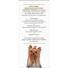 Load image into Gallery viewer, Royal Canin Breed Health Nutrition Yorkshire Terrier Adult Canned Dog Food