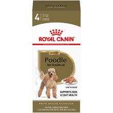 Load image into Gallery viewer, Royal Canin Breed Health Nutrition Toy & Miniature Poodle Adult Canned Dog Food