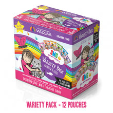 Load image into Gallery viewer, Weruva Grain Free BFF OMG Rainbow A Go Go Cat Variety Pouches Pack