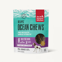 Load image into Gallery viewer, The Honest Kitchen BEAMS Grain Free Small Ocean Chews Wolffish Skin Dog Treats