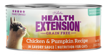 Load image into Gallery viewer, Health Extension Grain Free Chicken and Pumpkin Recipe Canned Cat Food
