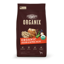 Load image into Gallery viewer, Castor and Pollux Organix Organic Chicken and Oatmeal Dry Dog Food