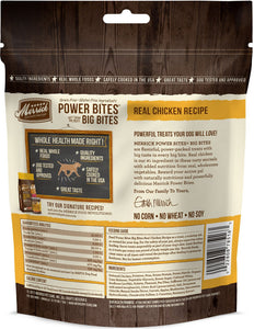 Merrick Power Bites Big Bites Real Chicken Dog Treats