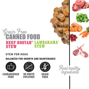 I and Love and You Beef Booyah & Lambarama Stew Multi-Pack Canned Dog Food