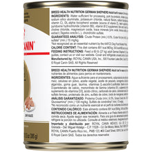 Load image into Gallery viewer, Royal Canin Breed Health Nutrition Adult German Shepherd Canned Dog Food