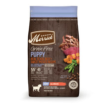 Load image into Gallery viewer, Merrick Grain Free Real Texas Beef & Sweet Potato Puppy Recipe Dry Dog Food
