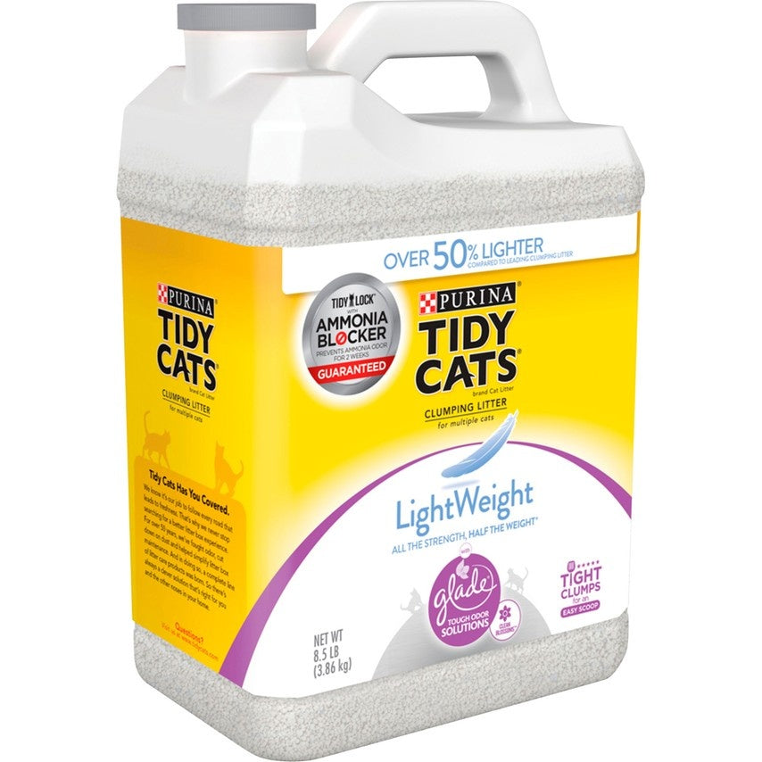 Tidy Cats Lightweight Blossom Scented Tough Odor Solution Cat Litter
