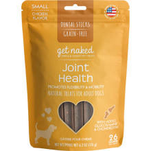 Load image into Gallery viewer, N-Bone Get Naked Grain Free Joint Health Dental Chew Dog Treats