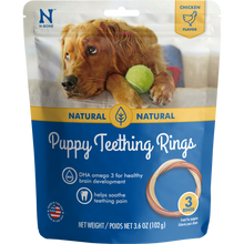 Load image into Gallery viewer, N-Bone Puppy Teething Rings Chicken Flavor Dog Treats