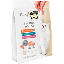 Load image into Gallery viewer, Fancy Feast Purely Natural Treats Variety Pack Cat Treats