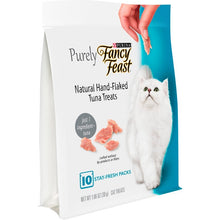 Load image into Gallery viewer, Fancy Feast Purely Natural Hand-Flaked Tuna Cat Treats
