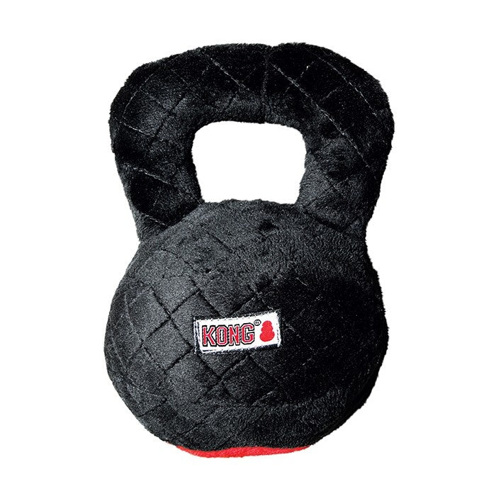 Kong Crossbit Kettle Ball Plush Dog Toy