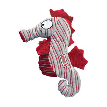 Load image into Gallery viewer, KONG CuteSeas Seahorse Crinkle Dog Toy