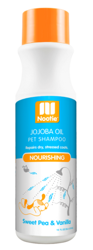 Nootie Sweet Pea & Vanilla Nourishing Jojoba Oil Shampoo for Dogs