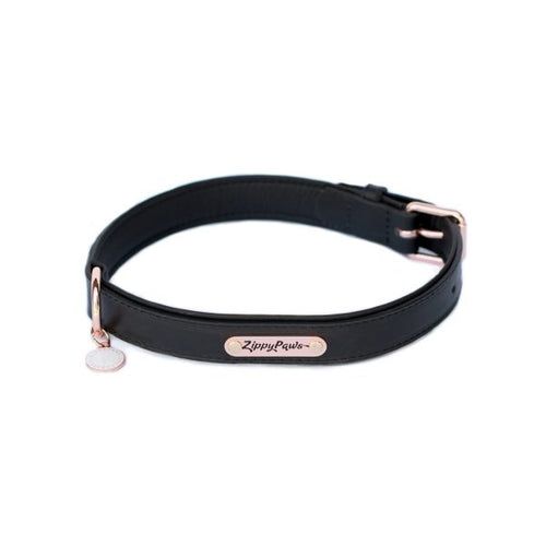 ZippyPaws Legacy Collection Black Dog Collar