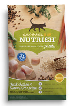 Load image into Gallery viewer, Rachael Ray Nutrish Natural Chicken & Brown Rice Recipe Dry Cat Food