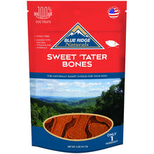 Load image into Gallery viewer, Blue Ridge Naturals Sweet 'Tater Bones Dog Treats