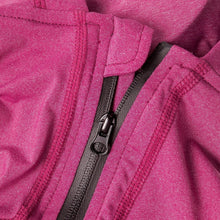 Load image into Gallery viewer, Pet Life Dog Helios Namastail Pink Full Bodied Performance Breathable Yoga Dog Hooded Tracksuit