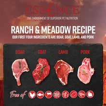 Load image into Gallery viewer, Essence Grain Free Ranch & Meadow Recipe Dry Dog Food