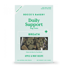 Load image into Gallery viewer, Bocce's Bakery Daily Support Apple & Mint Recipe Functional Breath Biscuit Dog Treats