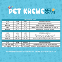 Load image into Gallery viewer, Pet Krewe Sailor Dog Costume