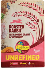 Load image into Gallery viewer, Earthborn Holistic Unrefined Roasted Rabbit with Ancient Grains & Superfoods Dry Dog Food