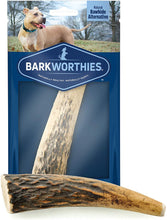 Load image into Gallery viewer, Barkworthies Whole Elk Antler Dog Chew for Small Breed Dogs