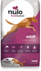 Nulo Frontrunner Pork, Barley & Beef Adult Dry Dog Food