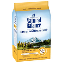 Load image into Gallery viewer, Natural Balance L.I.D. Limited Ingredient Diets Duck & Brown Rice Formula Dry Dog Food