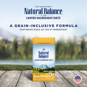 Natural Balance L.I.D. Limited Ingredient Diets Duck & Brown Rice Formula Dry Dog Food