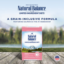 Load image into Gallery viewer, Natural Balance L.I.D. Limited Ingredient Diets Salmon & Brown Rice Formula Dry Dog Food