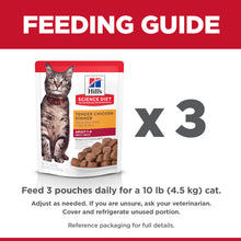 Load image into Gallery viewer, Hill's Science Diet Tender Chicken Dinner Adult Wet Cat Food