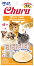 Load image into Gallery viewer, Inaba Churu Chicken Puree Cat Treat