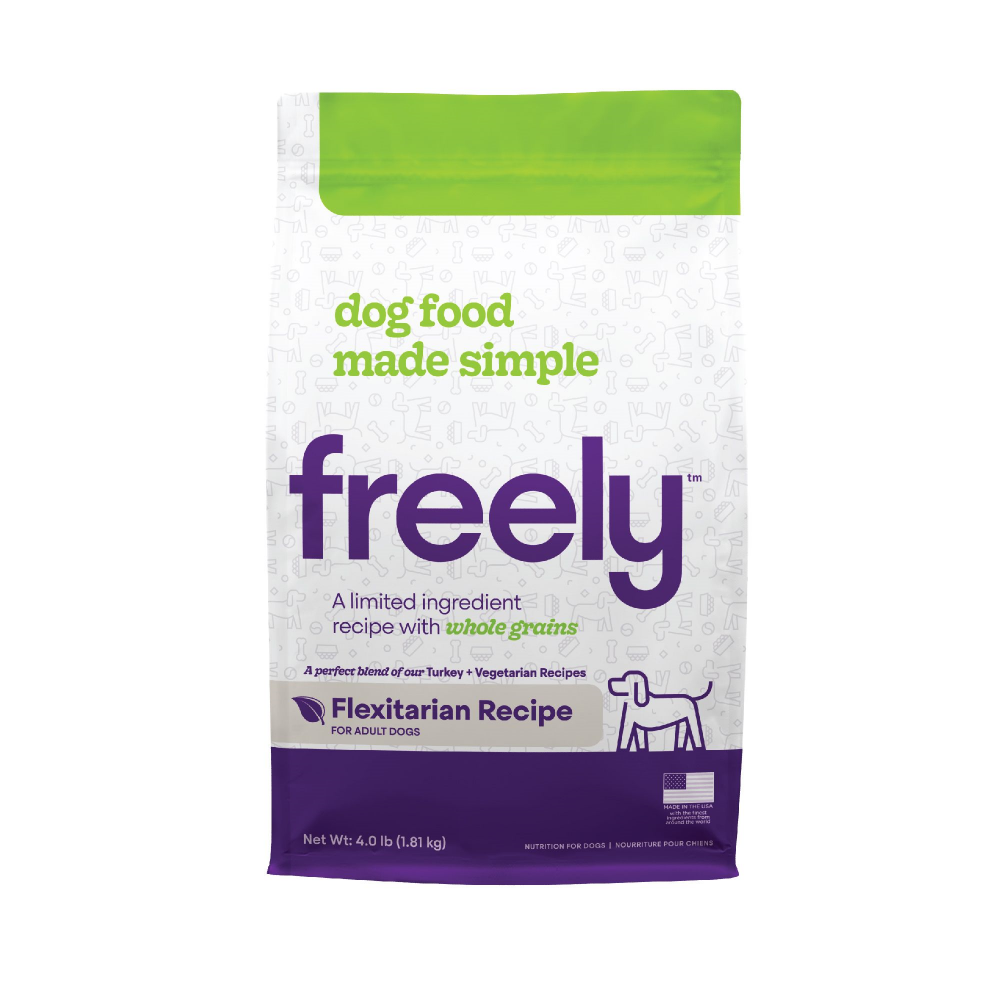Freely Limited Ingredient Diet Natural Whole Grain Flexitarian Kibble Adult Dry Dog Food