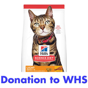 DONATE a Bag of Cat Food to a Family in Need!