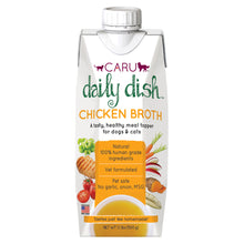 Load image into Gallery viewer, Caru Daily Dish Chicken Broth for Dogs & Cats