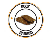 Load image into Gallery viewer, PureBites Duck Jerky Freeze Dried Raw Dog Treats