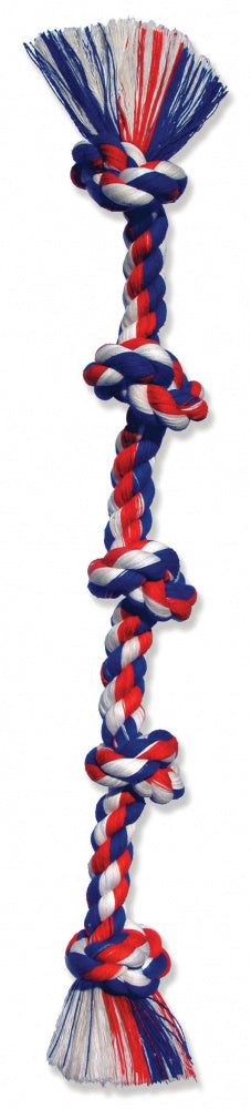 Mammoth Cottonblend 5 Knot Rope Tug Dog Toy